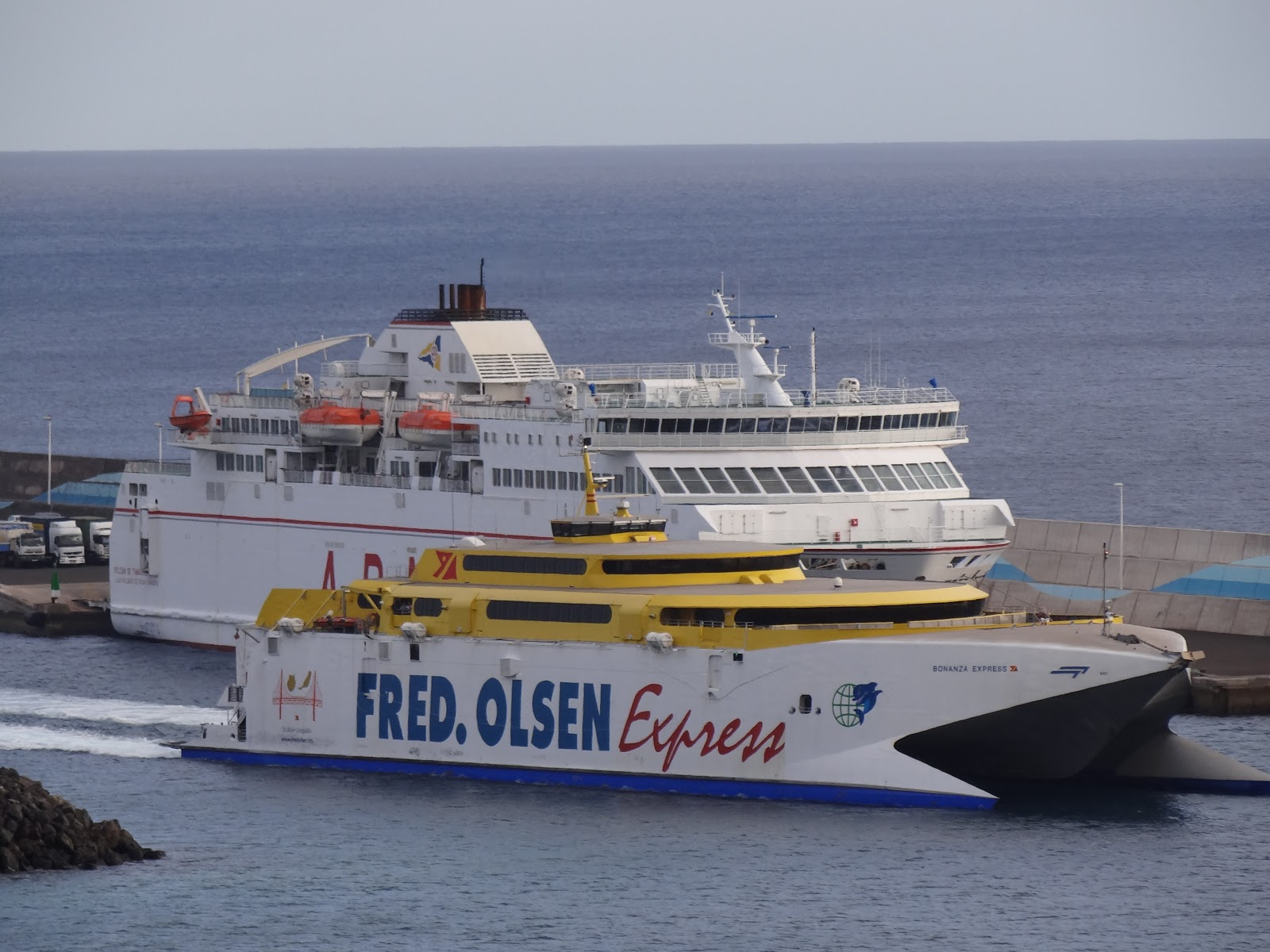 Transporte mar timo de canarias fedetax - Transporte tenerife ...