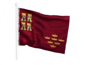 bandera-comunidad-autonoma-comunidad-murcia-vista