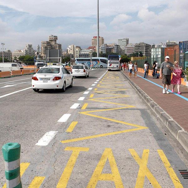Resultado de imagen de taxi muelle santa cruz