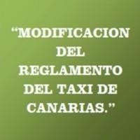 MODIFICACION REGLAMENTO TAXI