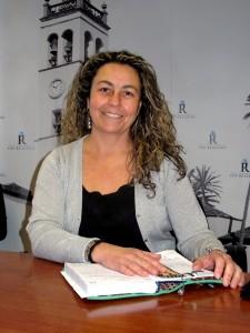 Sandra Pérez M. Concejala de Transportes del Ayto. Los Realejos