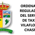 VILAFLOR DE CHASNA. Aprobación definitiva de la Ordenanza Municipal del Servicio de Transportes Auto Taxi
